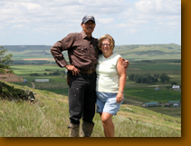 Dick and Sally Shaffer invites you to their pheasant haven.